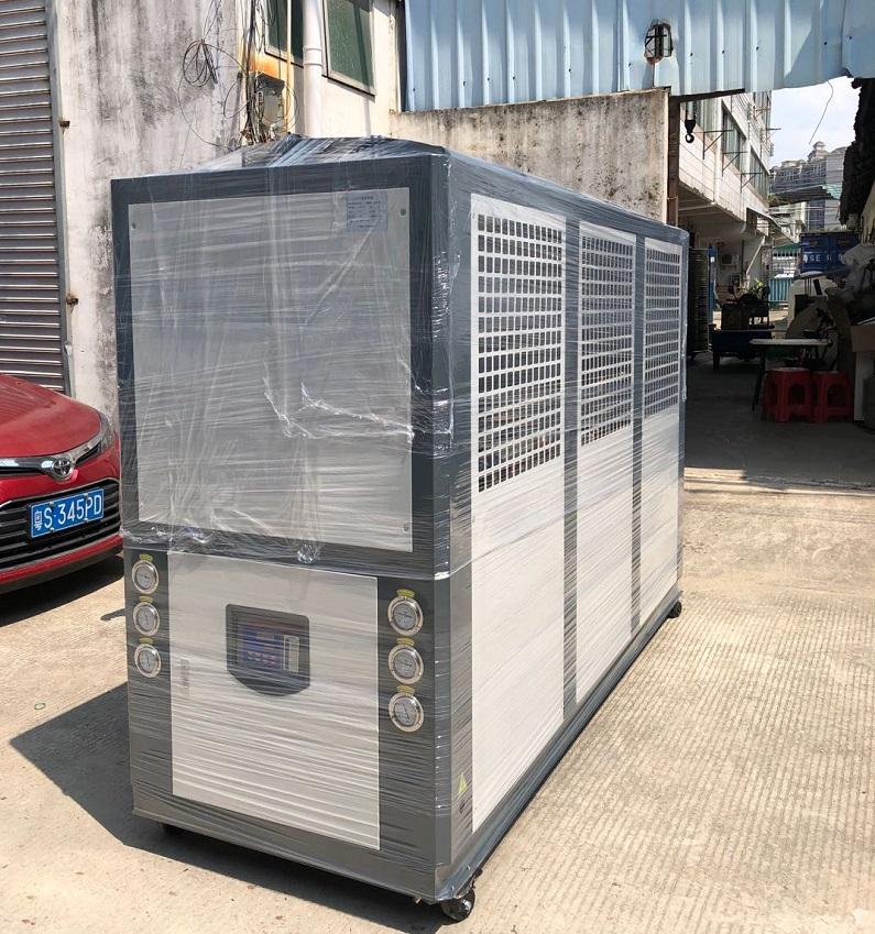 风冷式30HP 冷水机组、低温冷水机,-14度温度控制
